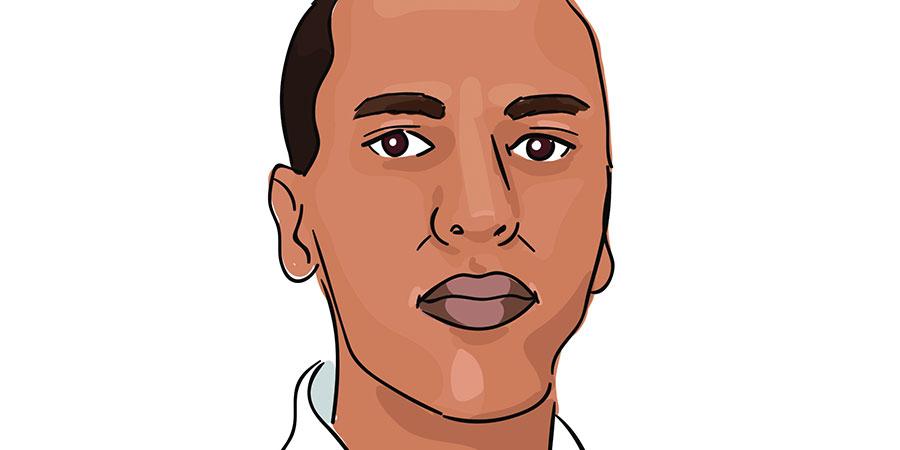 Illustration of Mohamed Mkhaitir